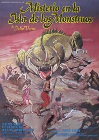 Постер Тайна острова чудовищ