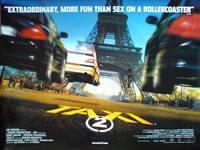 Постер Такси 2