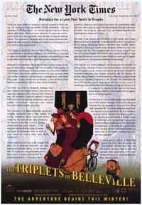 Постер Трио из Бельвилля