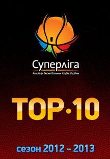 Баскетбол. TOP - 10 Суперлиги 2012-2013