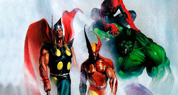 герои комиксов Marvel