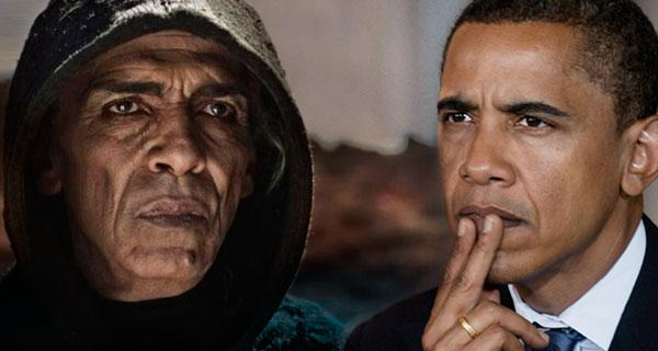 Сатана с сериала «Библия» и Барак Обама