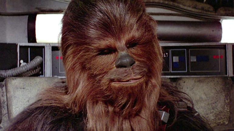Насъемках спин-оффа «Звездных войн» засветилась «жена» Чубакки