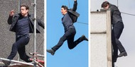 Том Круз провалил трюк на съемках фильма «Миссия невыполнима 6»