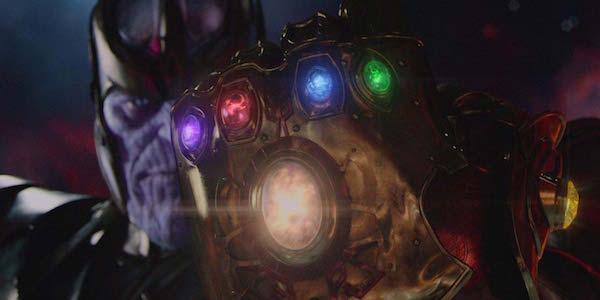 Танос с Рукавицей бесконечности