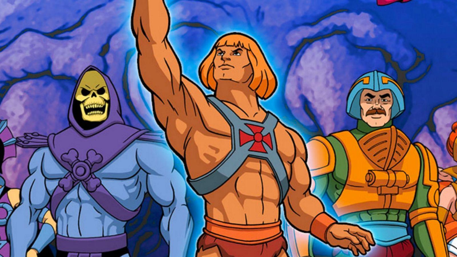 герои мультсериала о Хи-Мене