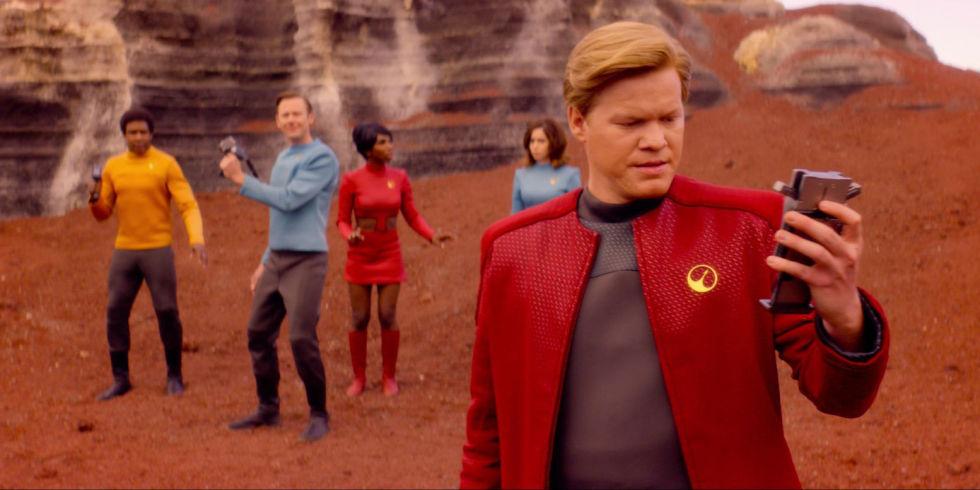Кадр из первого эпизода четвертого сезона «USS Каллистер»