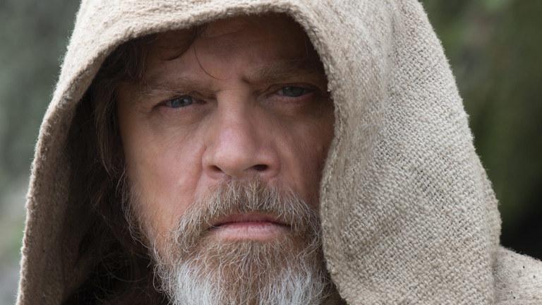 Марк Хэмилл в образе Люка Скайуокера