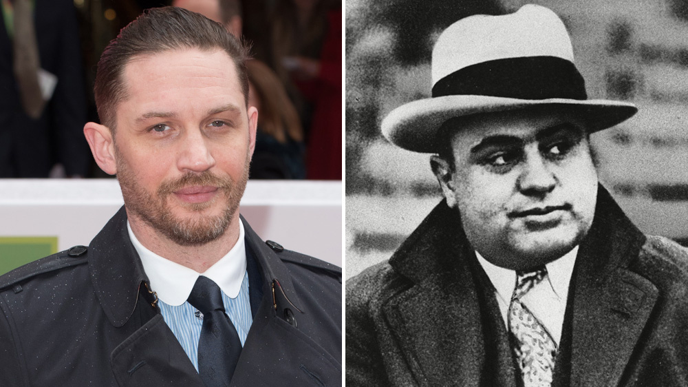 Том Харди и Аль Капоне