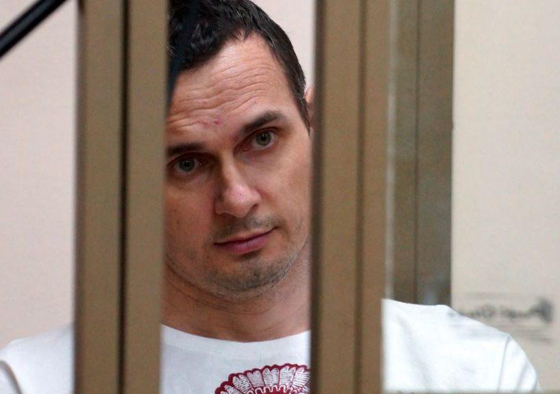 Олег Сенцов в российском суде