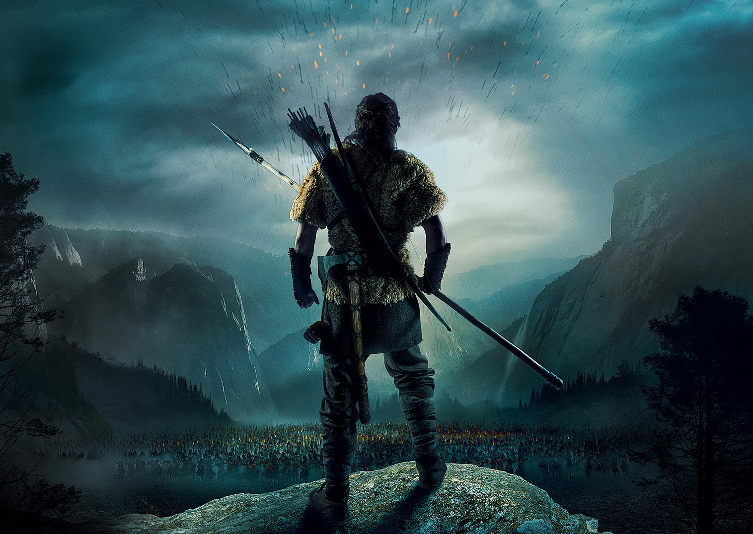 "Фрагмент постера фильма ""Захар Беркут"""