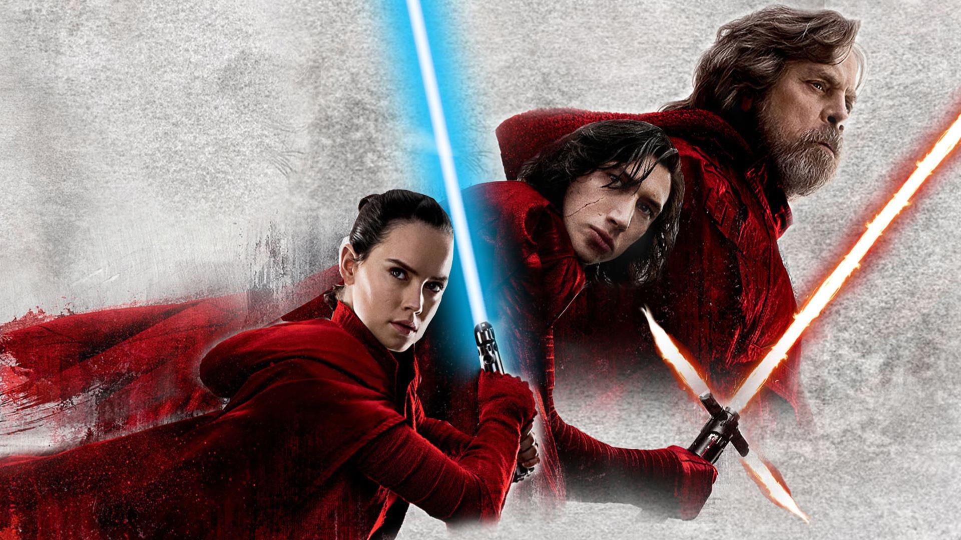 """Постер фильма """"Звездные войны: Последние джедаи"""""""