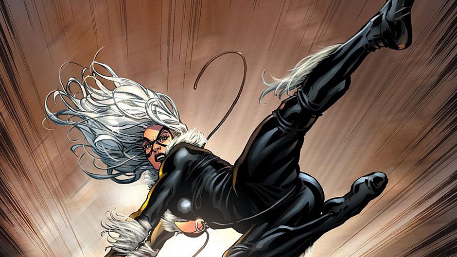 Черная кошка на страницах комиксов