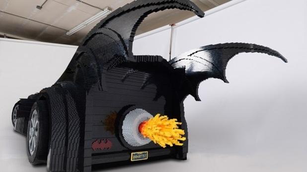 Лего бэтмобиль