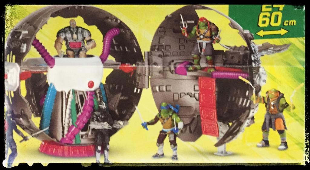 игрушечный макет Технодрома