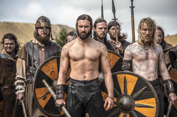 кадр из сериала Викинги