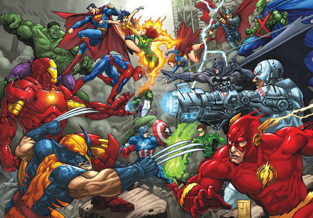 герои Марвел против героев DC