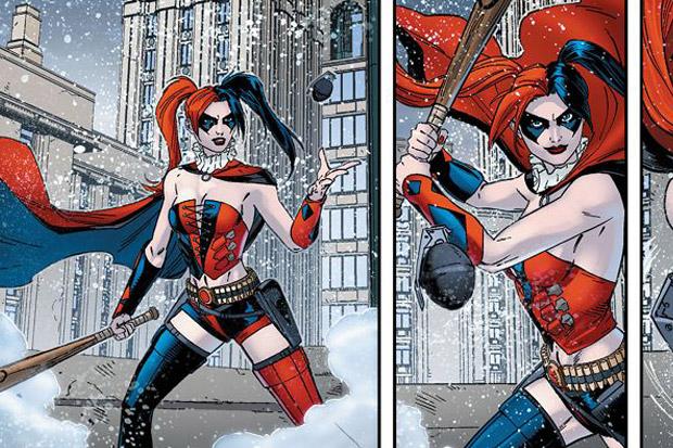 Харли Куинн в комиксе Suicide Squad Vol. 4, 2011 года