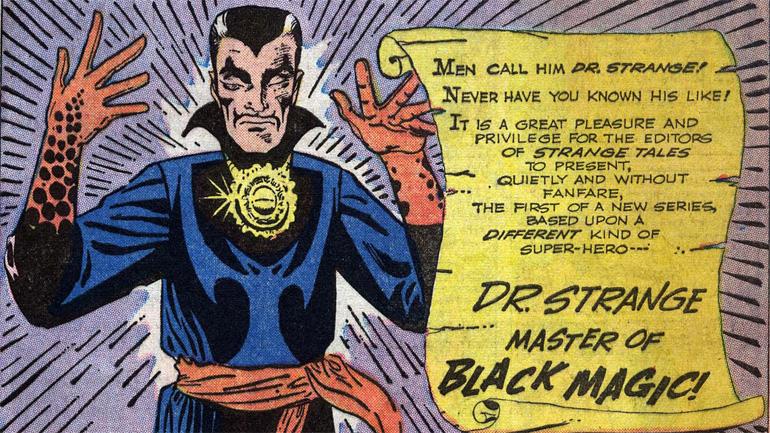 Доктор Стрэндж в комиксах