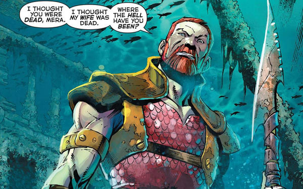 король Нерей в комиксах
