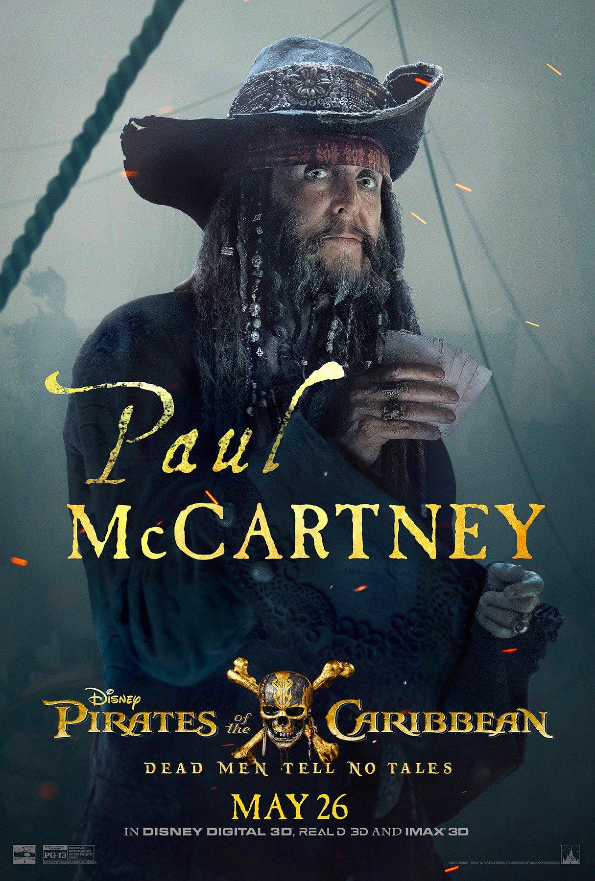 Пол МакКартни в Пиратах Карибского моря