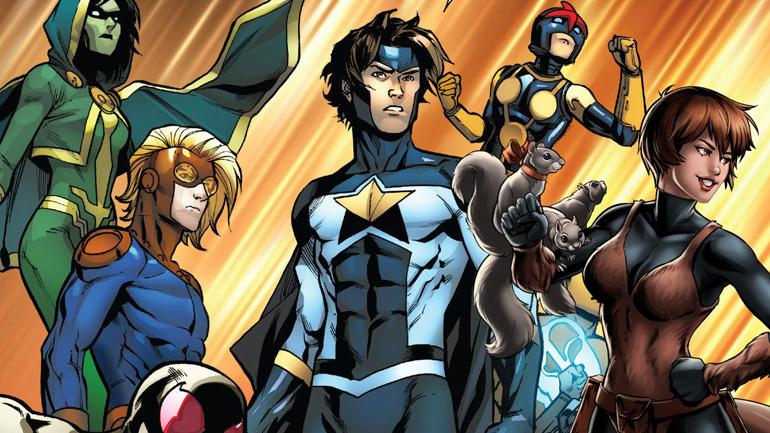 Новые воины в комиксах