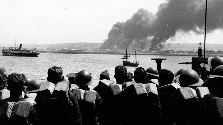 эвакуция британских войск, Дюнкеркская операция