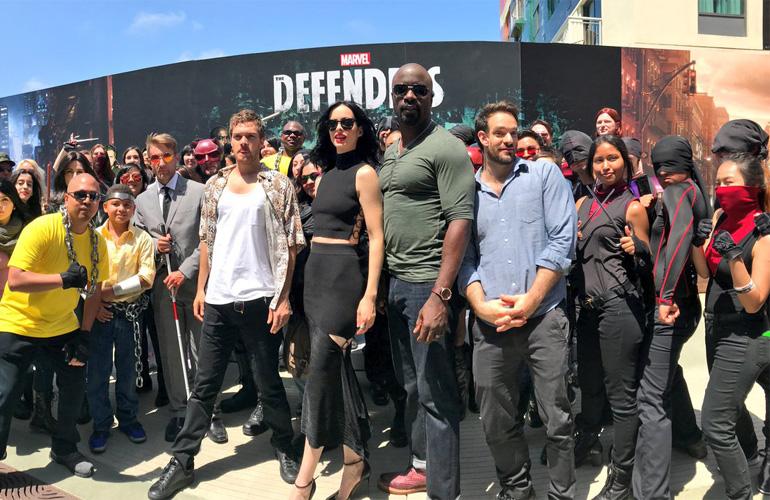 Защитники на Comic Con 2017