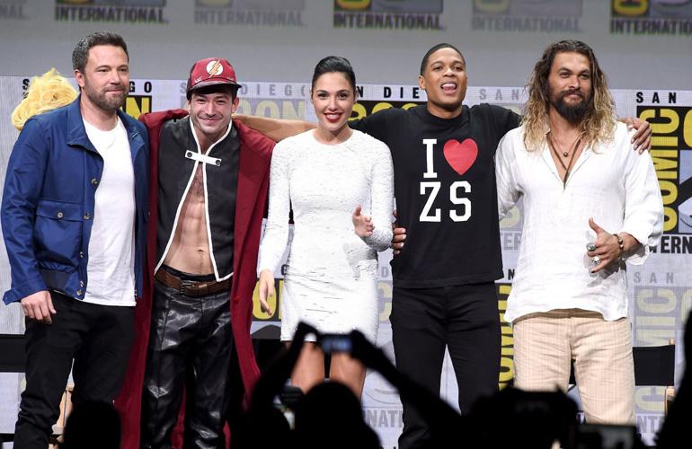 Лига справедливости на Защитники на Comic Con 2017