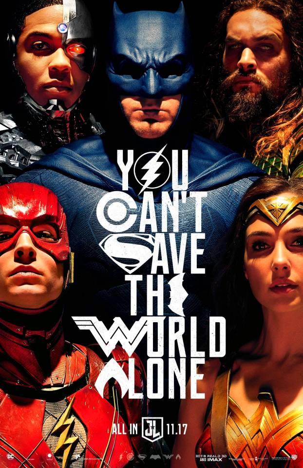 постер «Лиги справедливости»