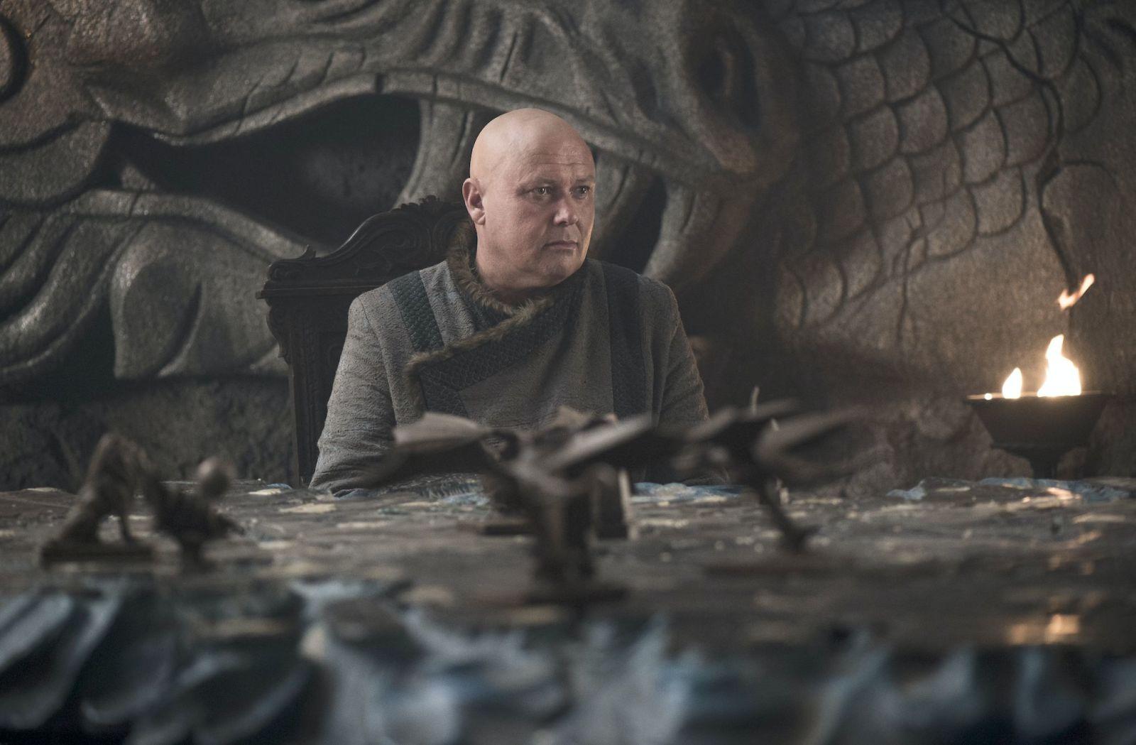 """кадр из 5 серии 7 сезона """"Игры престолов"""""""