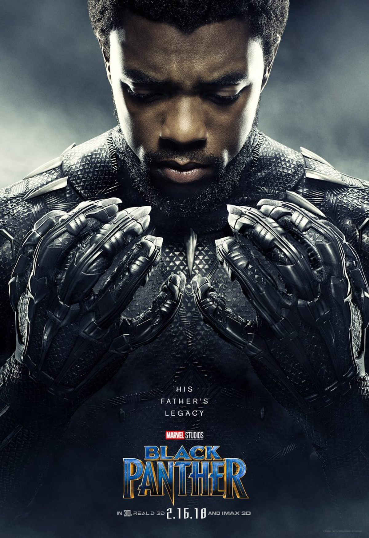 постер фильма «Черная пантера» 2018