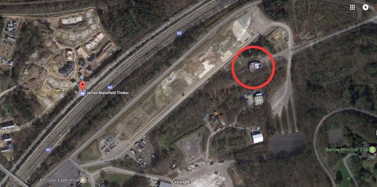 «Тысячелетний сокол» на Google Maps