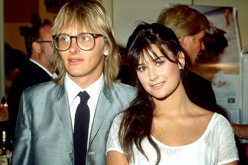 Деми Мур с первым мужем Фредди Муром