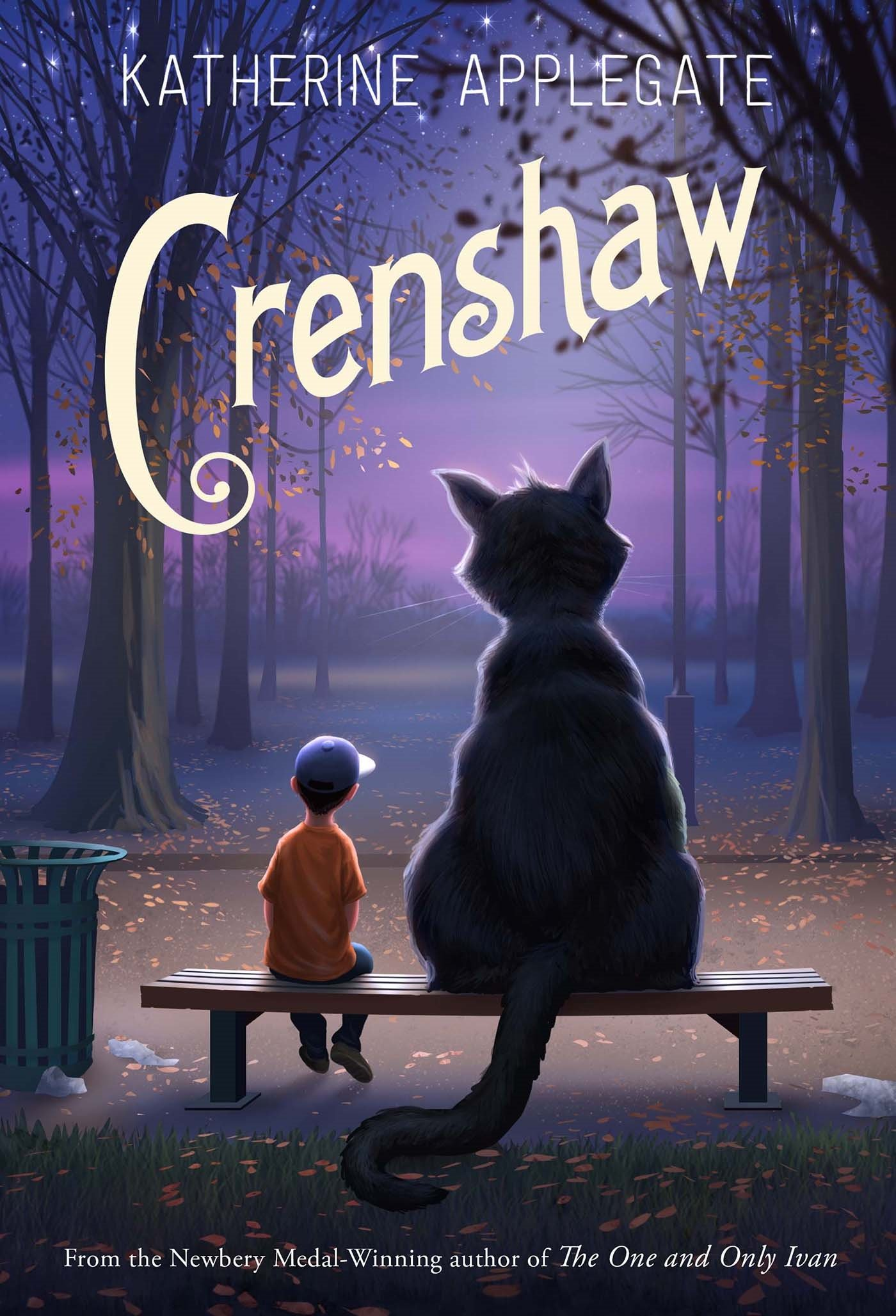 обложка книги «Crenshaw»
