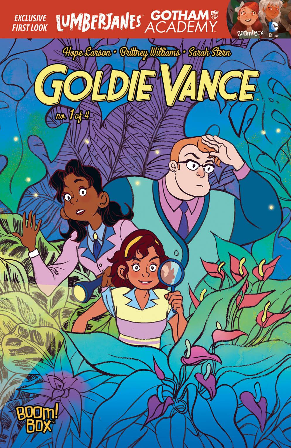 комикс Goldie Vance