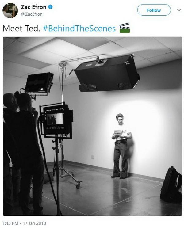Зак Эфрон в образе маньяка Теда Банди