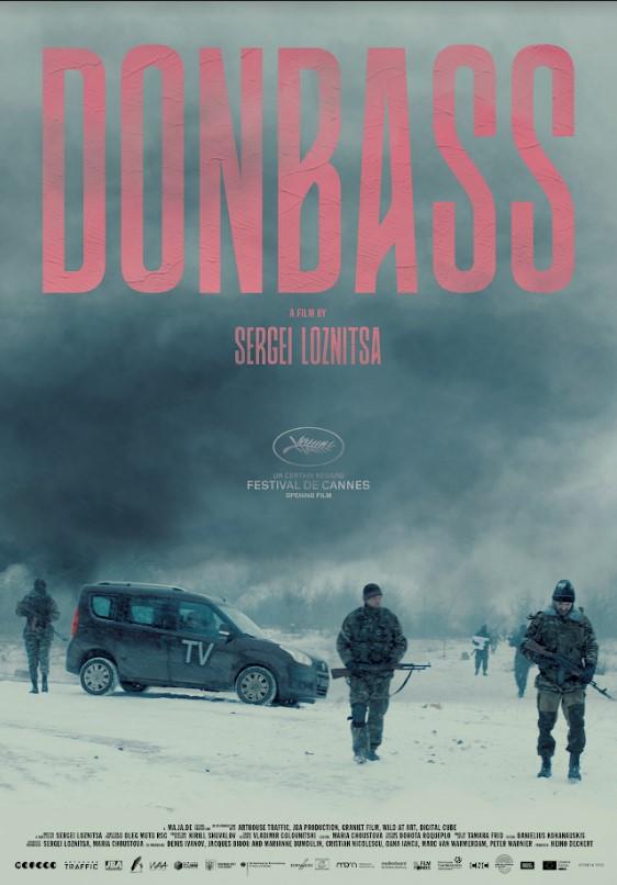 """постер фильма """"Донбасс"""" 2018"""