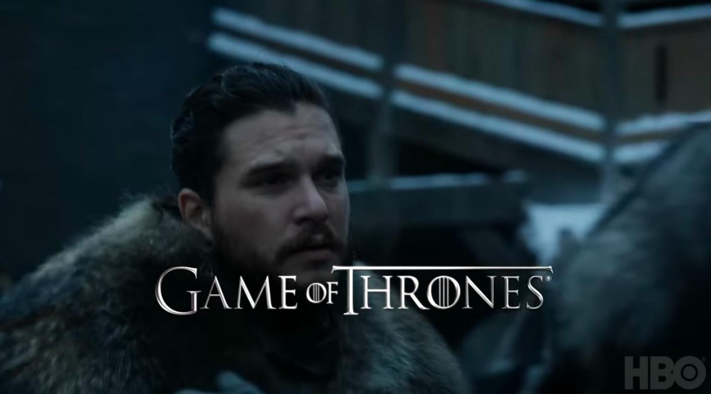 """кадр из 8 сезона """"Игры престолов"""""""
