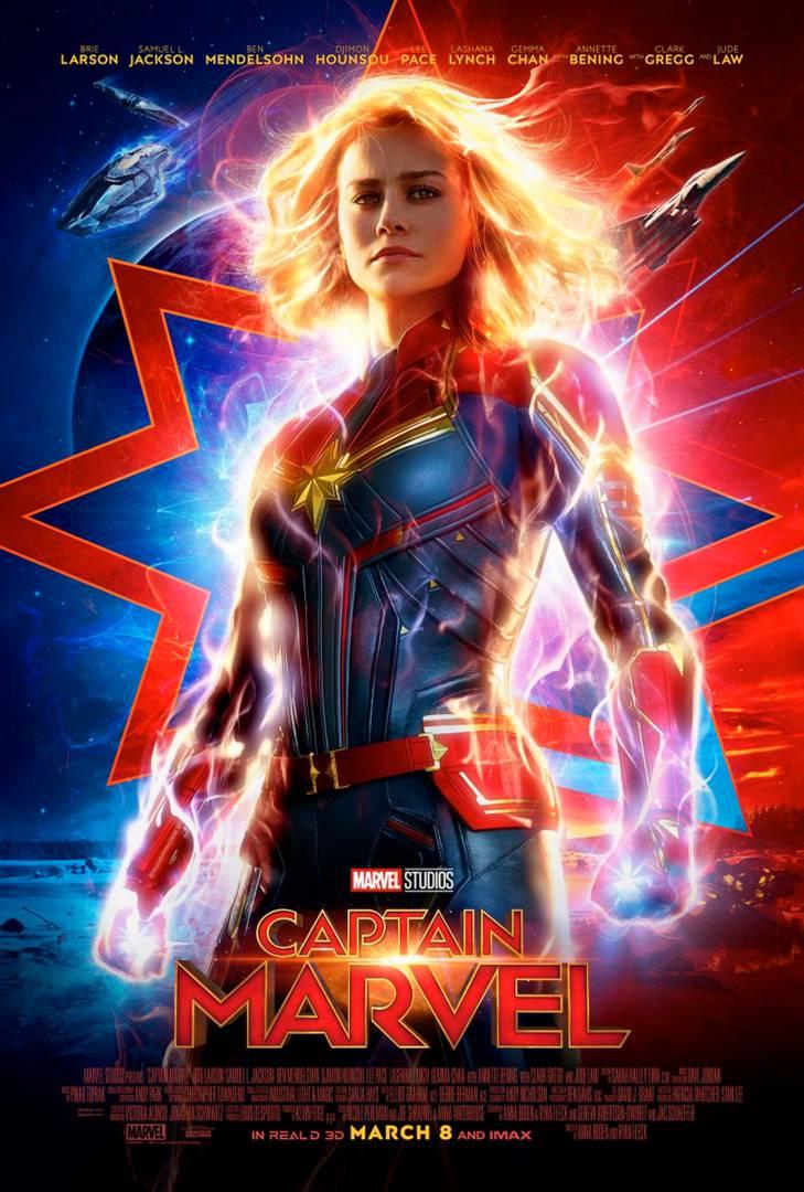 «Капитан Марвел»: новый постер в преддверии нового трейлера