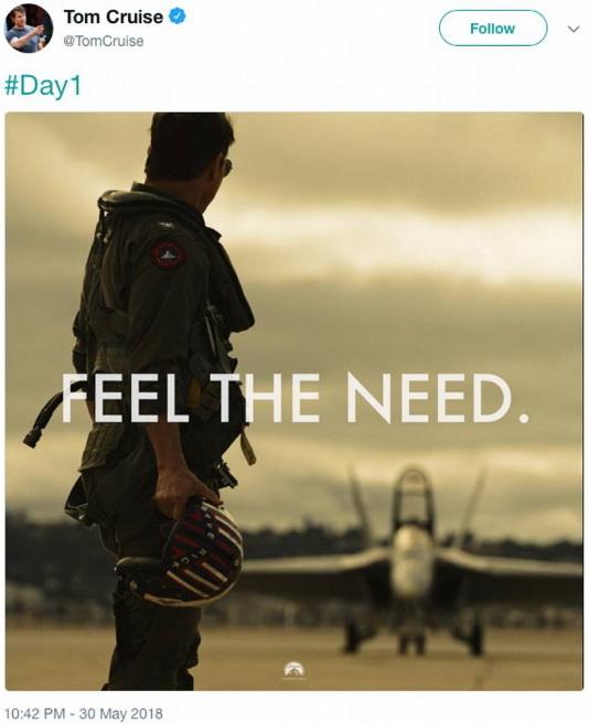 Том Круз снимется впродолжении культового фильма Top Gun— Снова молодой