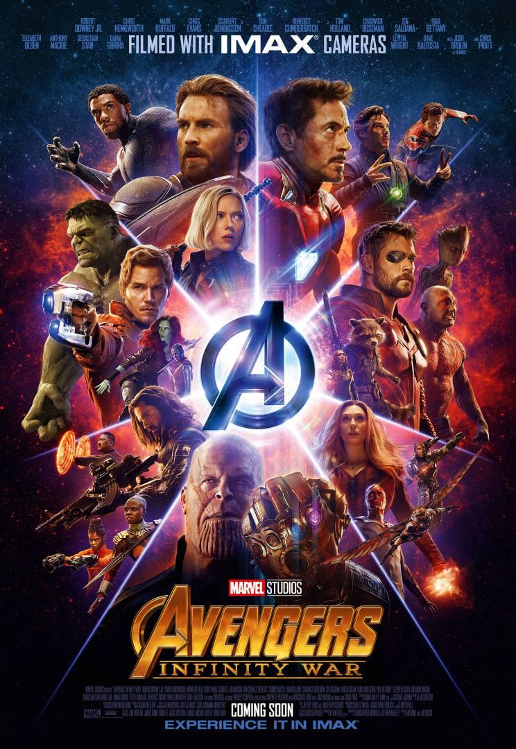 Найди «пасхалки» на новом постере «Войны бесконечности» для IMAX