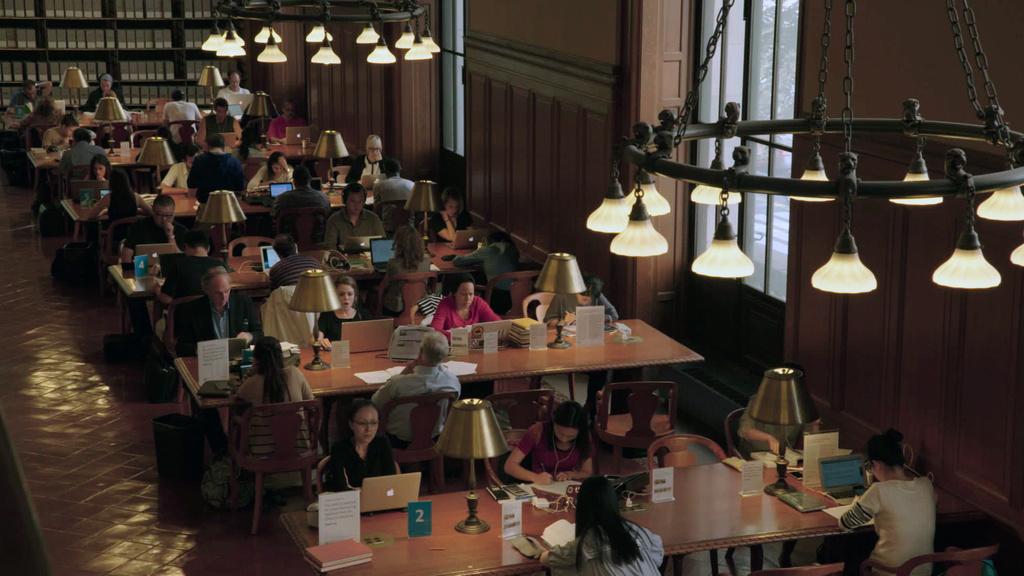 «Ex Libris: Нью-Йоркская публичная библиотека»