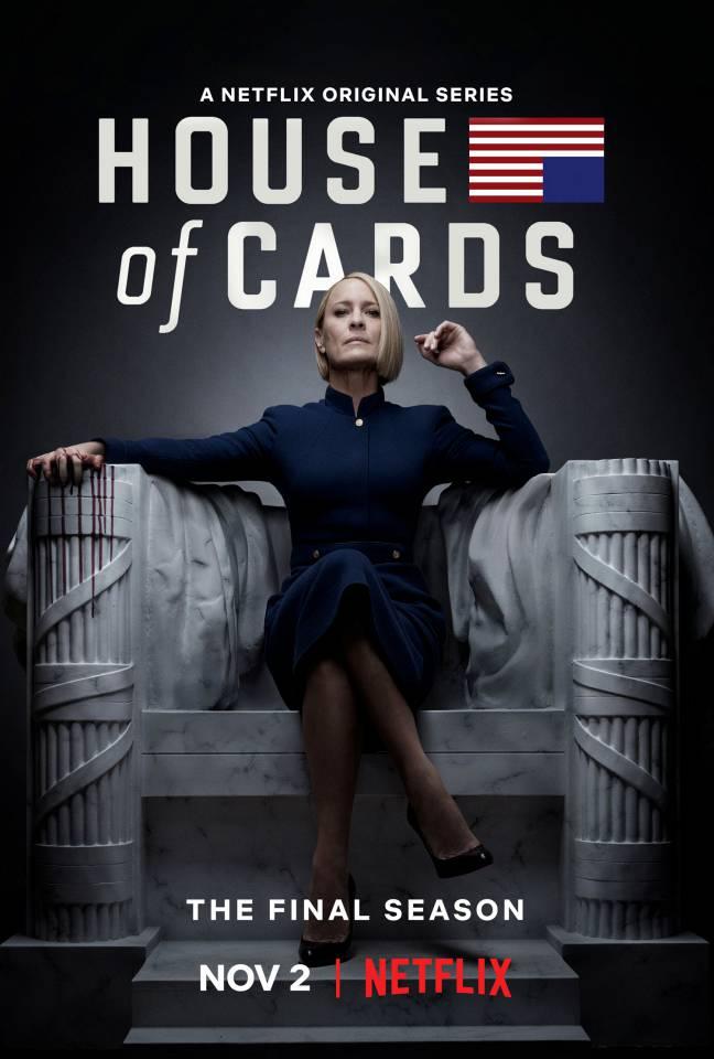 «Карточный домик» возвращается в ноябре