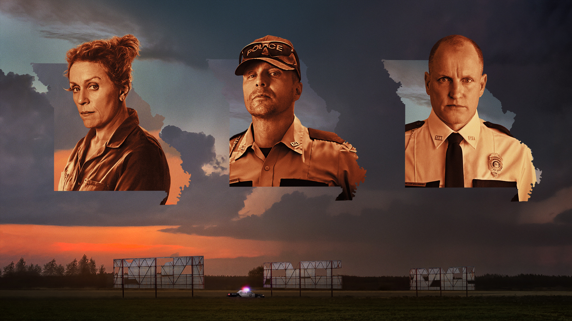 Фильм «Три билборда на границе Эббинга, Миссури»