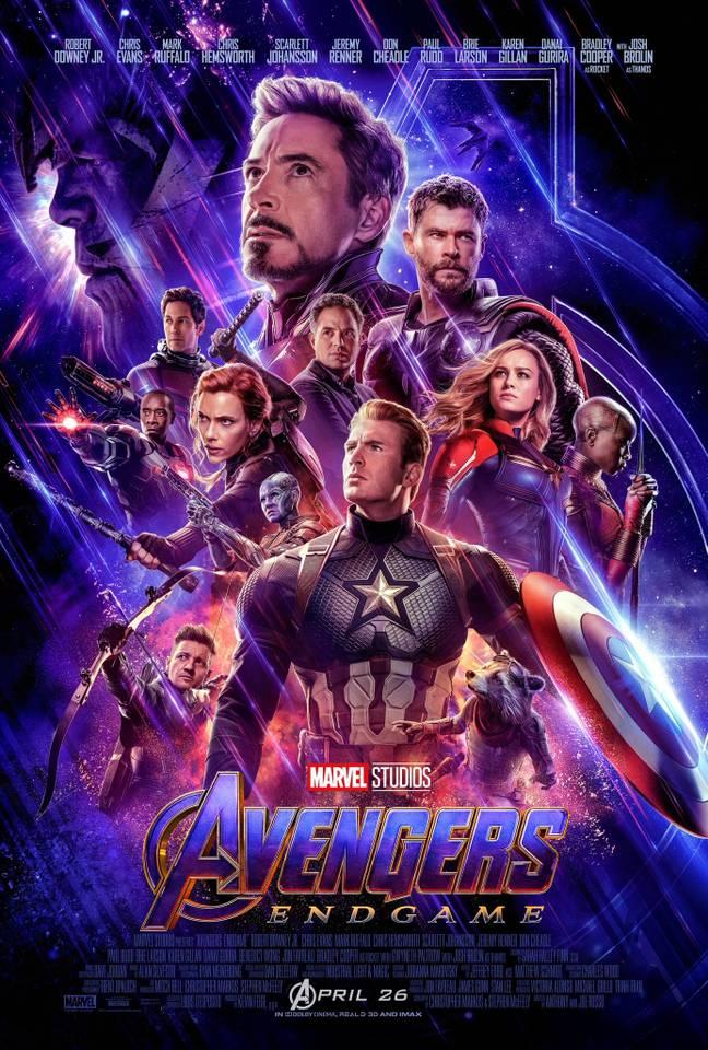 Marvel исправила ошибку на постере последних «Мстителей»
